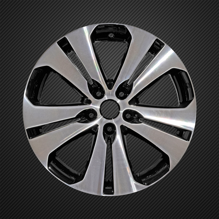 Kia diamond cut alloy wheel