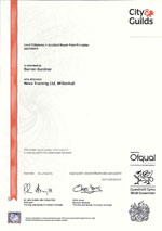 accident repair paint principles level 3 certificate