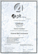 aplt general risk assessment certificate