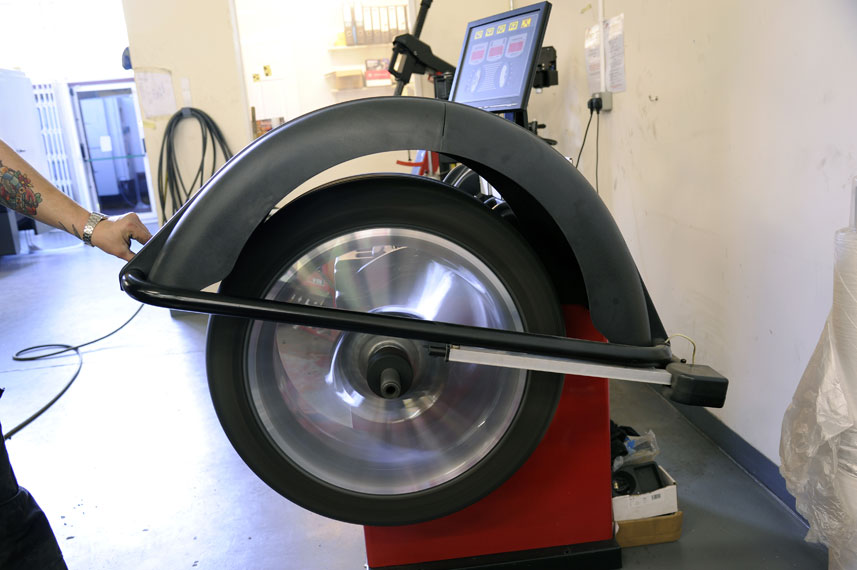 image of tyre fitting